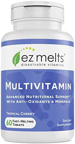 Multivitamins: EZ Melts Multivitamin with Iron