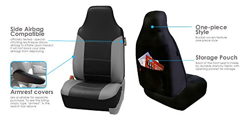 Fh Group Fh Pu103102 High Back Royal Pu Leather Car Seat