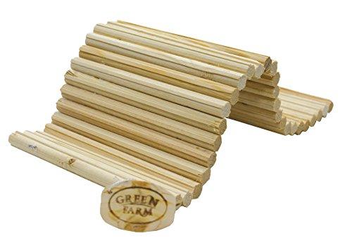 Pine Wood Sticks Flexible Hideout Ladder Toy Medium 14'' Long by Green Farm