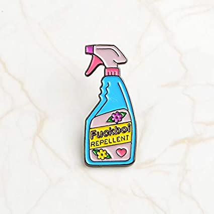 Amazon com : F Flower Repellent- Pins and brooches Bullshit