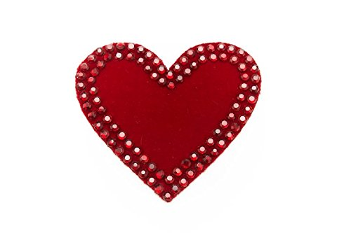 Fake Pubic Hair - Merkin Boutique Heart Shaped red pubic