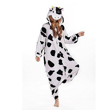 Pijamas Vaca mallas/pijama entero Fiesta/Vacaciones pijama a Fantasia animales Halloween negro blanco