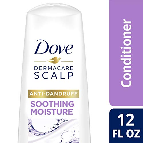 DOVE HAIR Dermacare Scalp Soothing Moisture Anti-Dandruff Conditioner, 12 Ounce