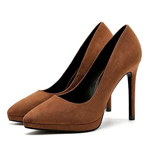 Chaussures Talons Femme Cuir Mariage Pompes 2 À Marque Ya Taille Ai Vache Printemps Grande De Automne Parti Hauts liangxie En Rouge ChQdrxts