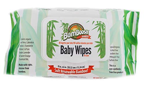 Bum Boosa Scented Baby Wipes, 80 Count