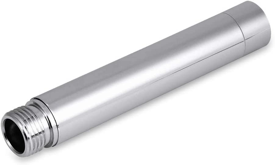 Details about  /4inch Stainless Steel Shower Extension Round Tube With Plating For Bath YZ)