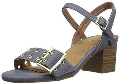 Aerosoles Women's Mid Town Dress Sandal, Blue, 6 M US