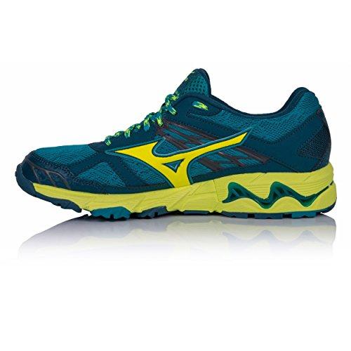 De Mujin Green Femme Mizuno Running Wos Wave Chaussures HznwqaI