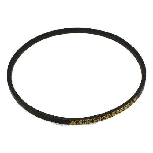 sourcingmap K Type 21-inch Girth Machine Transmission Band Wedge Rope Vee V Belt