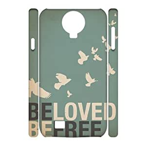 Be Free Personalized 3D Cover Case for SamSung Galaxy S4 I9500,customized phone case ygtg581278