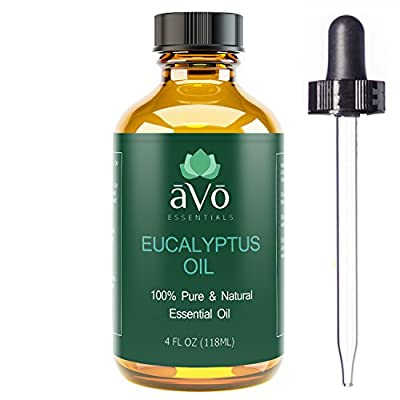 aVo 4 Ounce OIL - 100% Pure, Premium Therapeutic Grade Essential Oil for Aromatherapy, Sinus Relief and Congestion, and Dandruff Treatment
