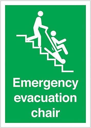 Silla de evacuación de emergencia A3 - Carteles - Señales de ...