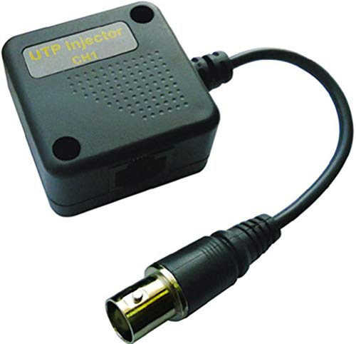 - COP Security 15-U102I BNC to UTP Injector Channel 2, Transmit a Full Motion Color Video Signal up to 300M, DC to 8MHz Bandwidth, Exceptional Interference Rejection Function