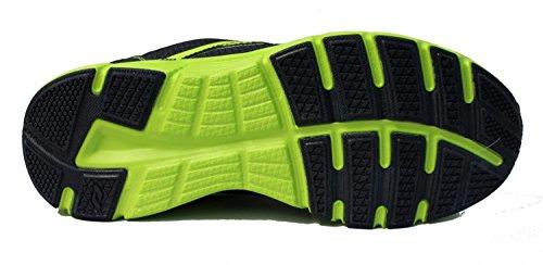 Pro Touch–Scarpe da corsa Oz Pro V Jr–Grigio/Giallo neon
