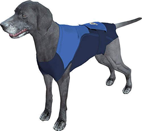 Surgi Snuggly Washable Disposable Dog Diapers Keeper - for Male and Female Dogs - Wrap Around Legs for Superior Fit - Fits (B/B-2XL)
