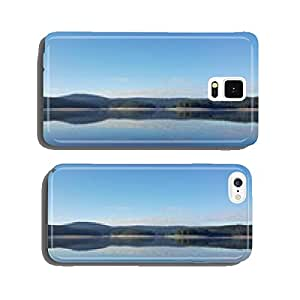 Mystic lake in the mountain cell phone cover case Samsung S6