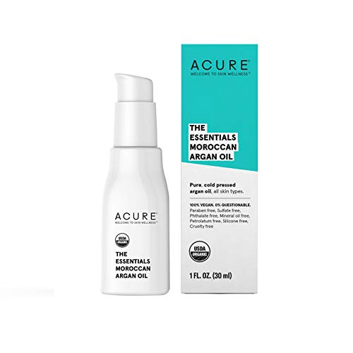 Acure The Essentials Argan Oil, 1 Fluid Ounce (Aromatherapeutic Hair Shampoo)