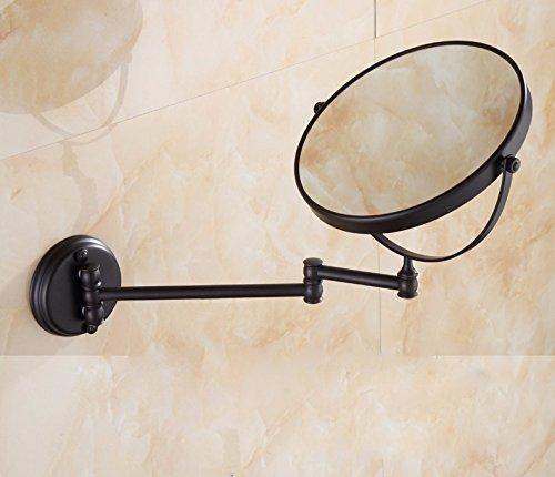 Bathroom mirrors Health Bathroom Vanity Mirror beauty mirror telescopic mirror on the wall mirror 8 inch 2-sided Fold
