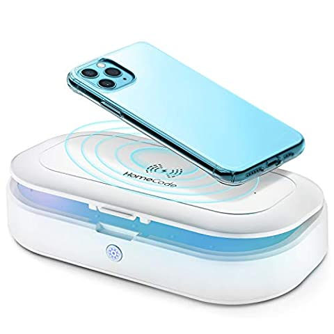 Homecode UV Cleaner & Wireless Charger | 3 in 1 Sterilizing Box - Sale: $52.99 USD (16% off)
