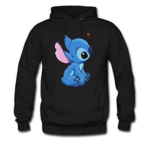 DIYHoody Lilo and Stitch Men's Hoodies, Custom Sweatshirts Lilo and Stitch