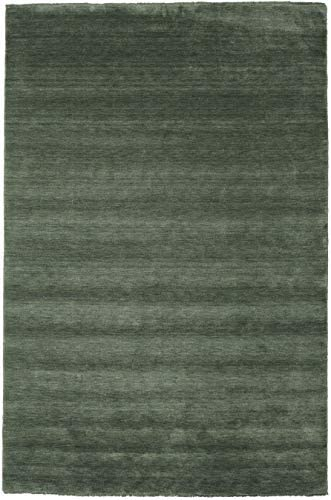 RugVista Handloom Fringes – Forest Green Rug 9 10 x13 1 300×400 cm Modern Carpet