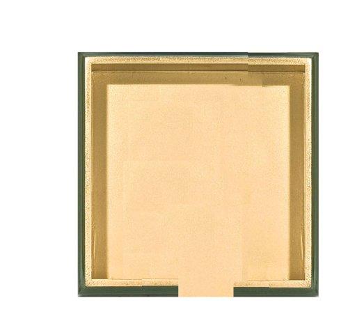 Michel Design Works木製Luncheonナプキンホルダー、グリーンとゴールド   B0050HGA9S