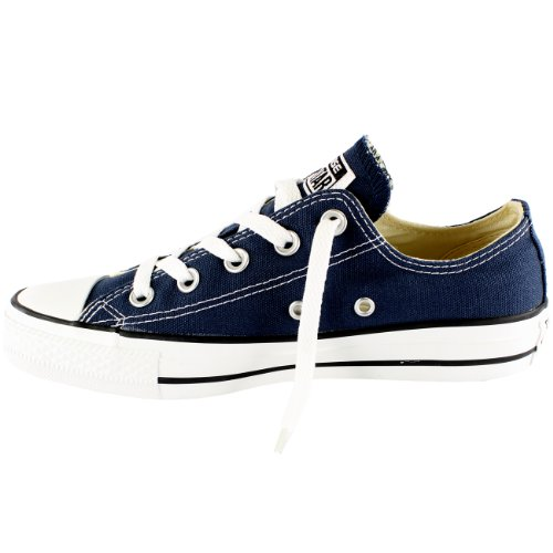 Uomo Converse All Star Ox Basso Top Chuck Taylor Chucks Lace Up Trainer-navy Navy