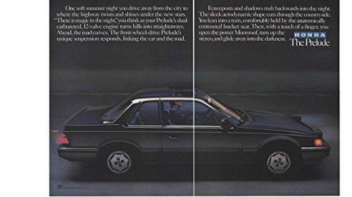 Magazine Print Ad: 1984 Honda