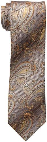 Van Heusen Men's Ombre On Paisley Tie, Taupe, One Size
