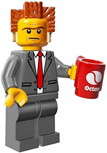 LEGO Series The Lego Movie Minifigure President Business - Lord Business (71004)