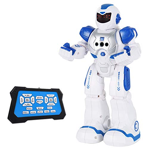 SGILE Robot Toy, RC Gesture Sensing Programmable Intelligent Robot with Infrared Controller for Kids