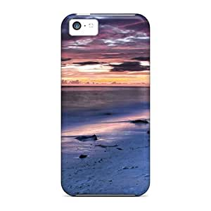 Hot Snap-on Night Sea Hard Cover Case/ Protective Case For Iphone 5c