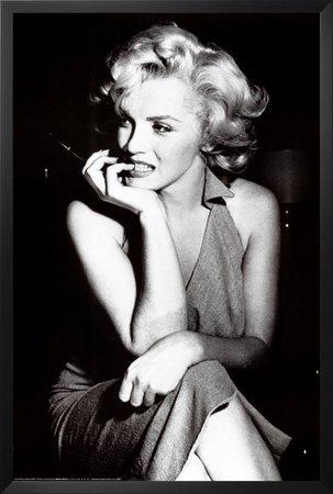 Amazon.com: Professionally Framed Marilyn Monroe Movie (Sitting ...