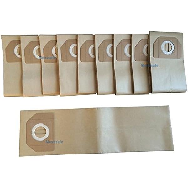 10 bolsas de aspiradora a Kärcher A2701, a2801, a 2701 2801 como original 6.904 – 263 de MicroSafe®: Amazon.es: Hogar