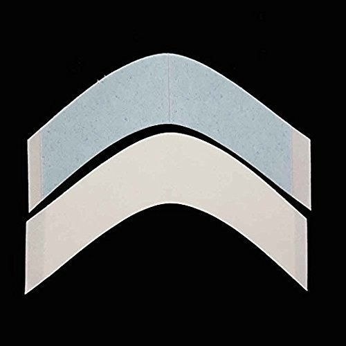 SHOWJARLLY A Contour Lace Front Support Tape Strips for Wigs and Toupees Water-Proof Strong Adhesive Double Sided Tape (36 Pieces)