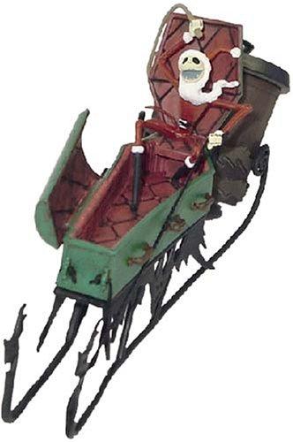 nightmare before christmas coffin sleigh