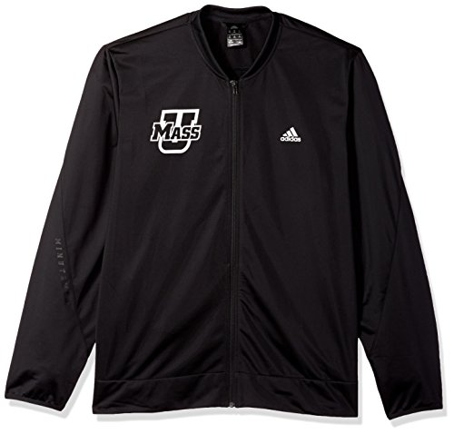 adidas NCAA Massachusetts Minutemen Mens On Court Warm-Up Jacketon Court Warm-Up Jacket, Black, XX-Large