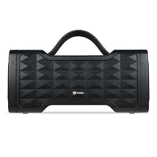 Zoook Jazz Blaster - Portable Waterproof Outdoor Wireless Bluetooth Speaker with subwoofer, Rich Bass, 30 Watts of Power, IPX5, Water Resistant and handsfree calling (Black)