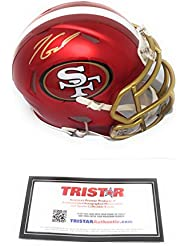 Jimmy Garoppolo San Fransisco 49ers Signed Autograph BLAZE Speed Mini Helmet Tristar Authentic Certified