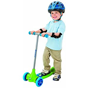 Razor Kixi Kix scooter - blue / green