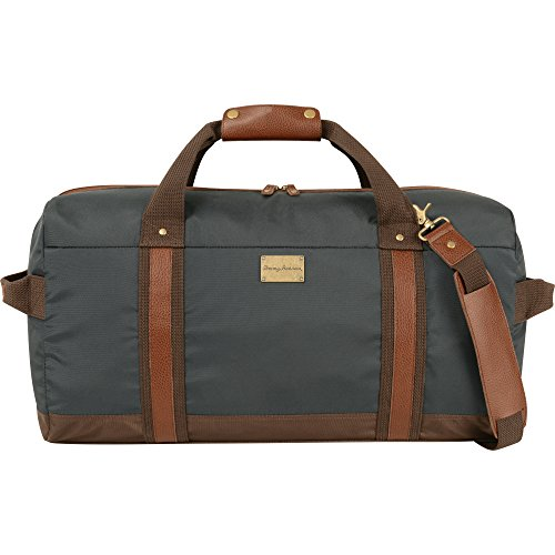Tommy Bahama Island Swagger 23 Inch Duffle, Navy/Brown, O...