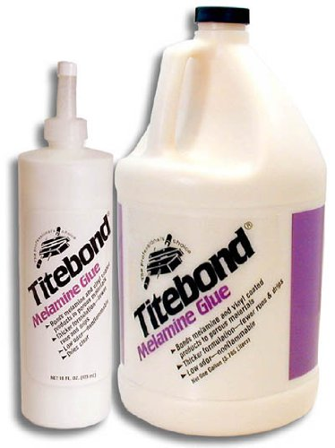 (Titebond Glue, Melamine, 1 Gal, White)