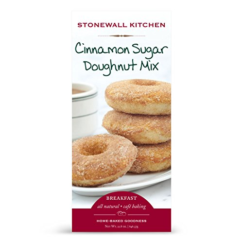 Stonewall Kitchen Cinnamon Sugar Doughnut Mix, 18 Ounce Box - Cinnamon Sugar Mix
