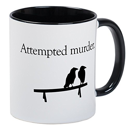 CafePress Attempted Murder Mug Unique Coffee Mug, Coffee ()