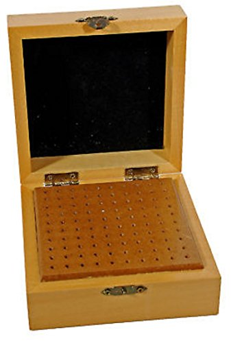 Wood Bur Box For Rotary Bits and Dremel Accessory Tools by ZEERMENG