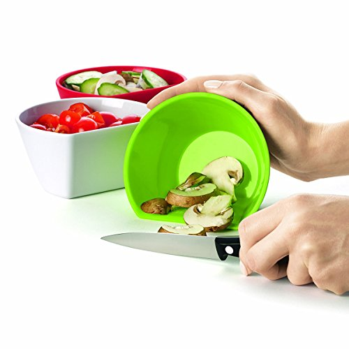 Cuisipro 2.5-Cup 4-Piece Scoop Bowl Measuring Set Cuisipro Bowls