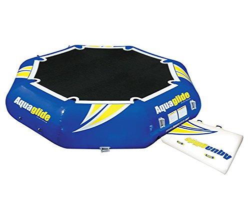 Aquaglide Rebound Bouncer, Blue, 12', Blue