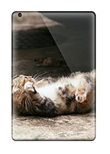 4133620J35101400 Mini 2 Scratch-proof Protection Case Cover For Ipad/ Hot Cat Lying In Concrete Phone Case