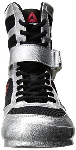 Reebok Shoes Men's Boxing Boots in SilverWhiteBlack Size