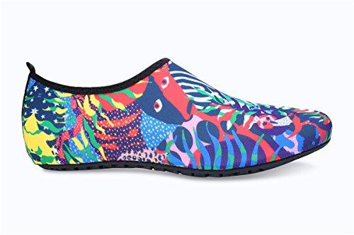 Shoes JIASUQI for Water Mens Swimming Yoga Socks Red Exercise Outdoor Aqua Beach and Green Womens xwgSpqwaF